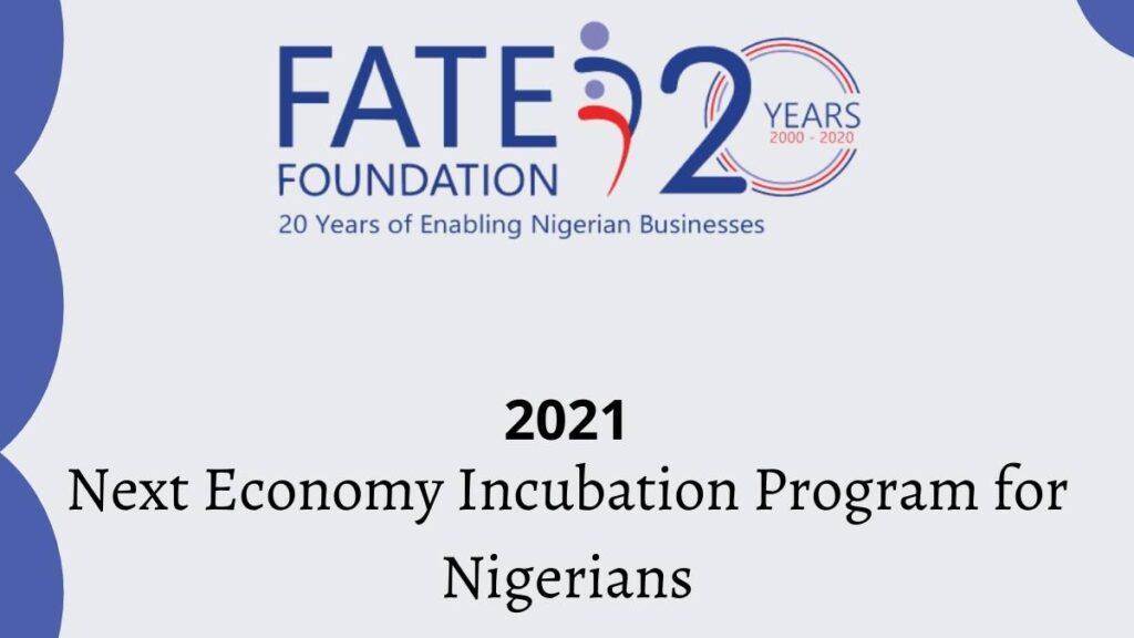 Next Economy Incubation Program