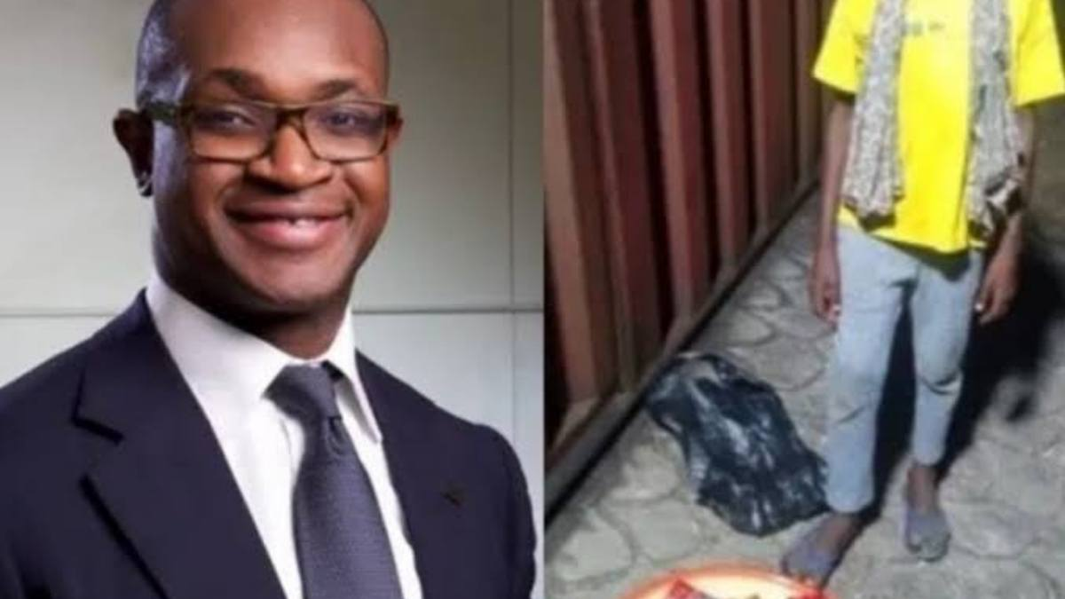 How Child Hawker Got A Scholarship From FCMB's Managing Director