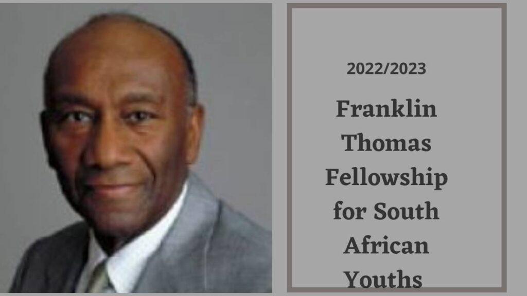 Franklin Thomas Fellowship