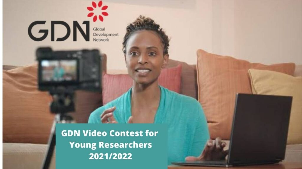 GDN Video Contest for young Researchers