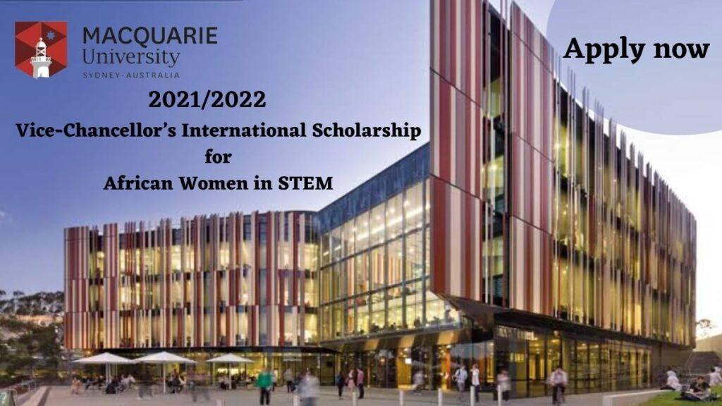 Vice-Chancellor International Scholarship Macquarie University
