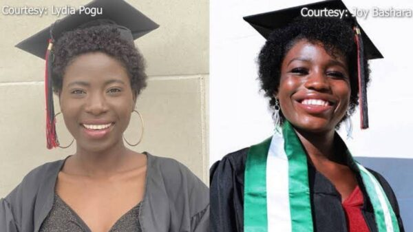 two Chibok Girls graduated US university