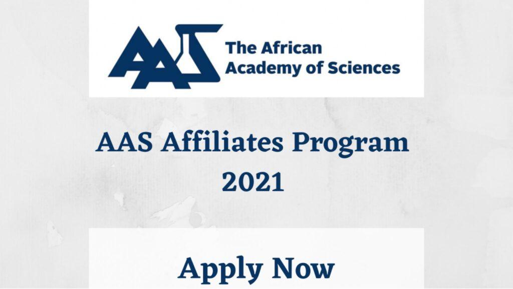 The AAS Affiliates Program