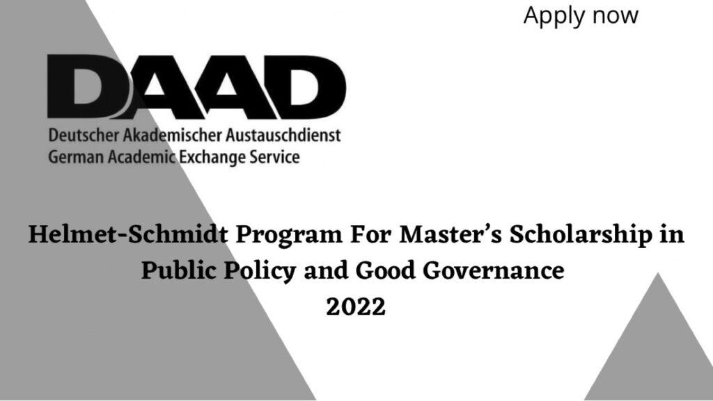 DAAD Helmut-Schmidt-Program