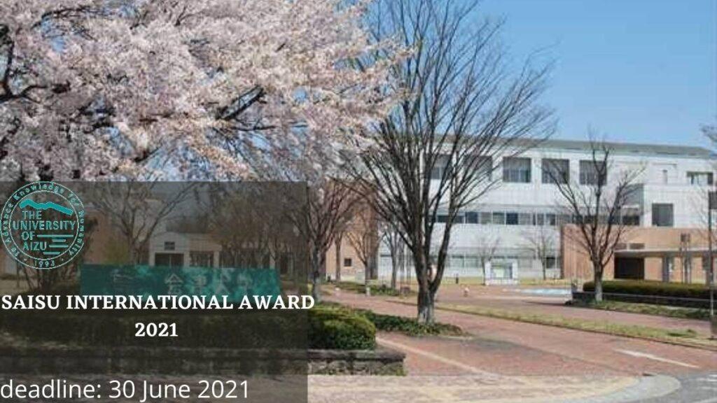SAISUA International Award At The University Of Aizu
