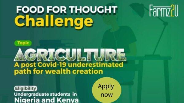 Farmz2u 'Food For Thought' Challenge