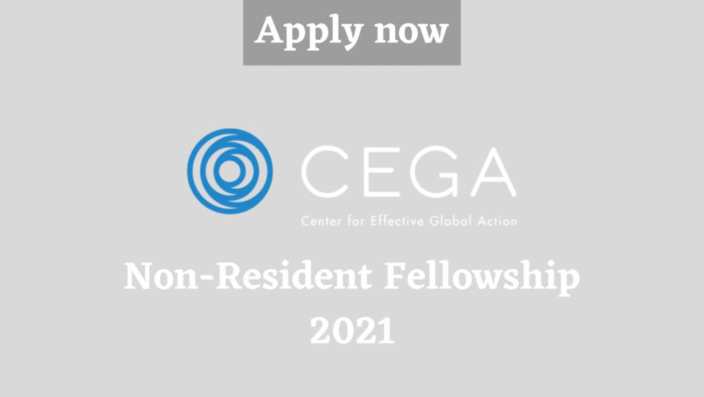 CEGA Non-Resident Fellowship