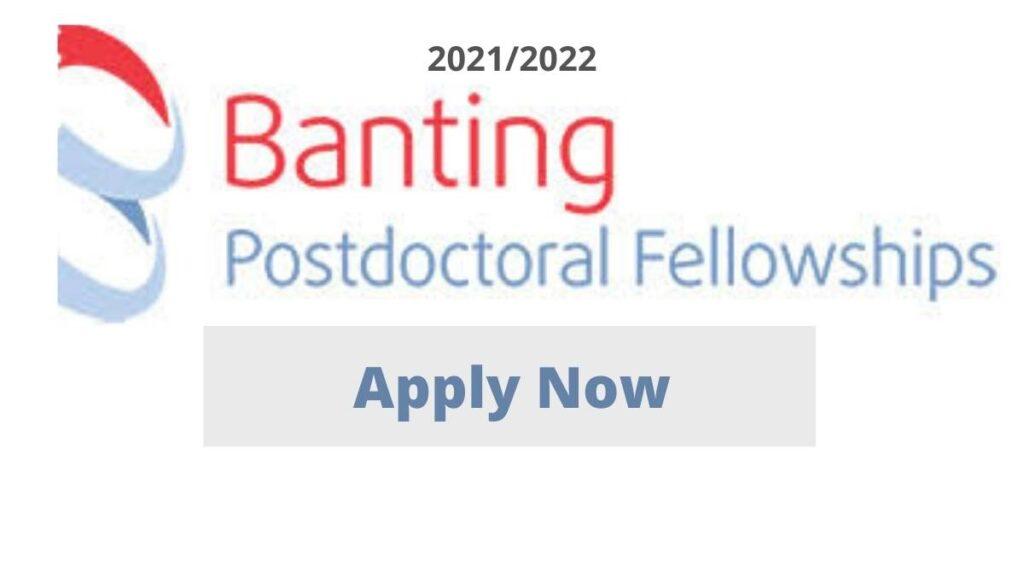 Banting Postdoctoral Fellowship