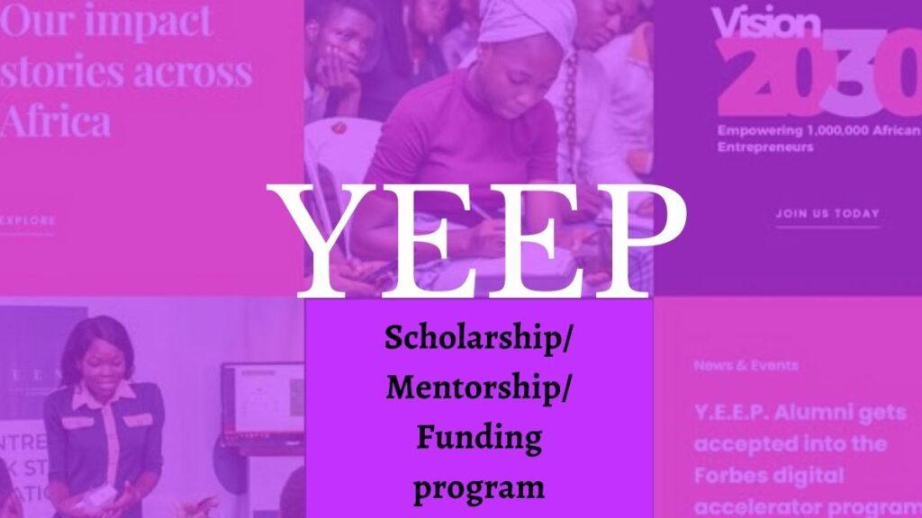 YEEP Scholarship/Mentorship/Funding Program 2021