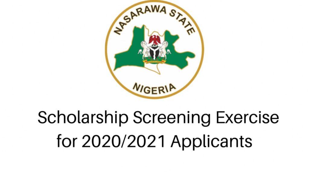 Nasarawa State Scholarship Screening Exercise