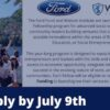 Ford Fund fellowship for social Entrepreneurs and Community leaders 2021