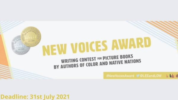 Lee And Low Books New Voices Award