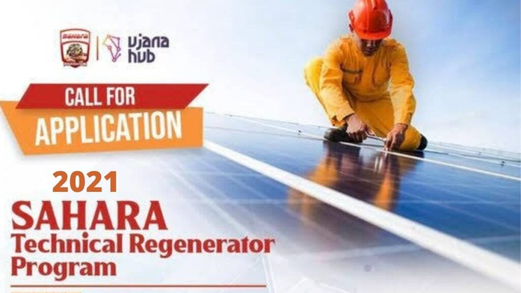 Sahara Technical Regenerator Program 2021