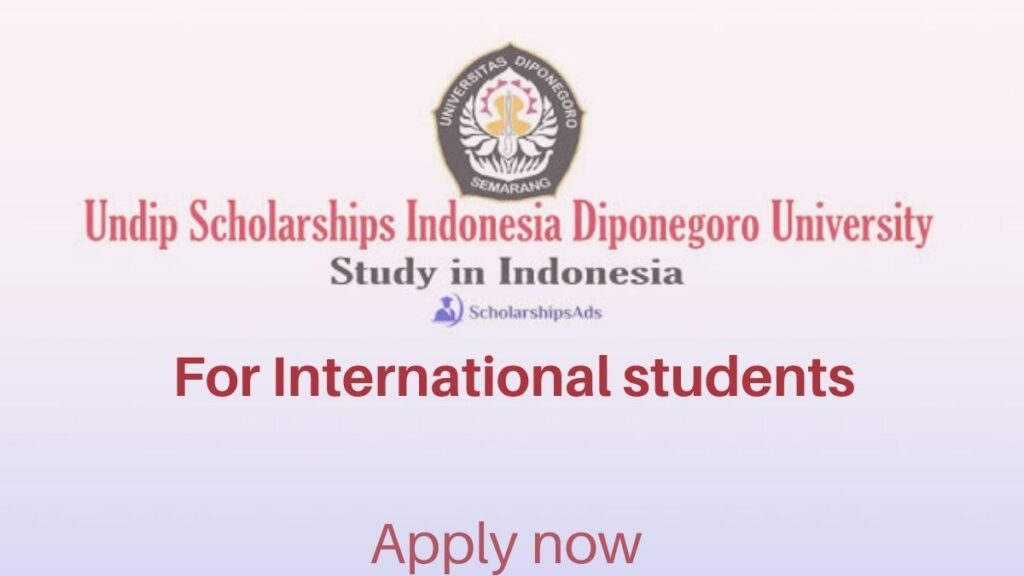 Undip Masters Scholarship