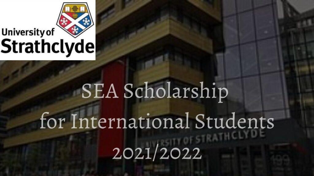 Strathclyde Excellence Award (SEA) Scholarship