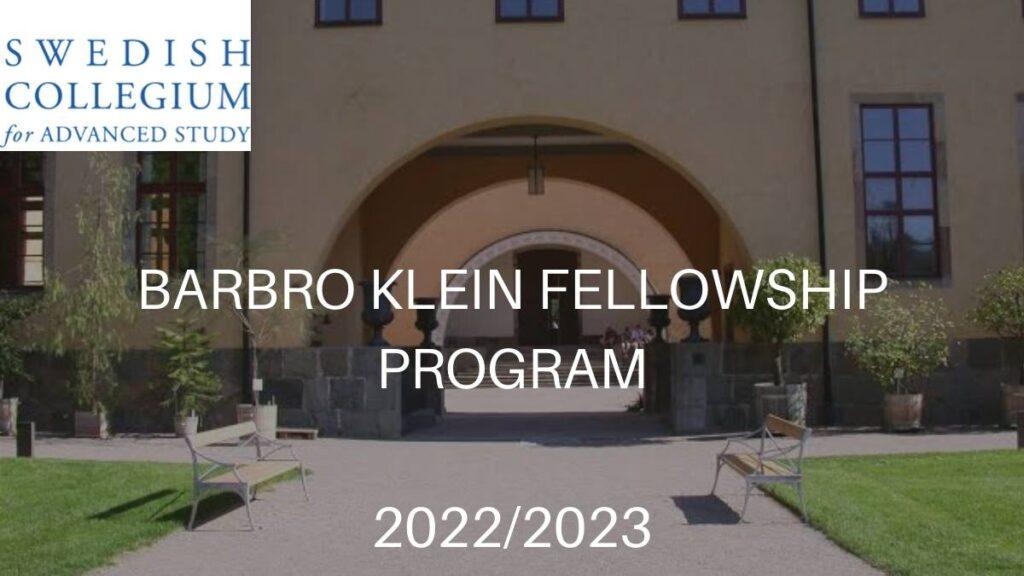 Barbro Klein Fellowship