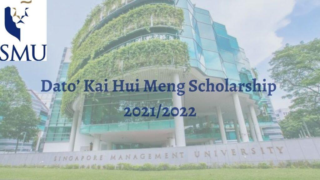 Dato Kho Hui Meng Scholarship