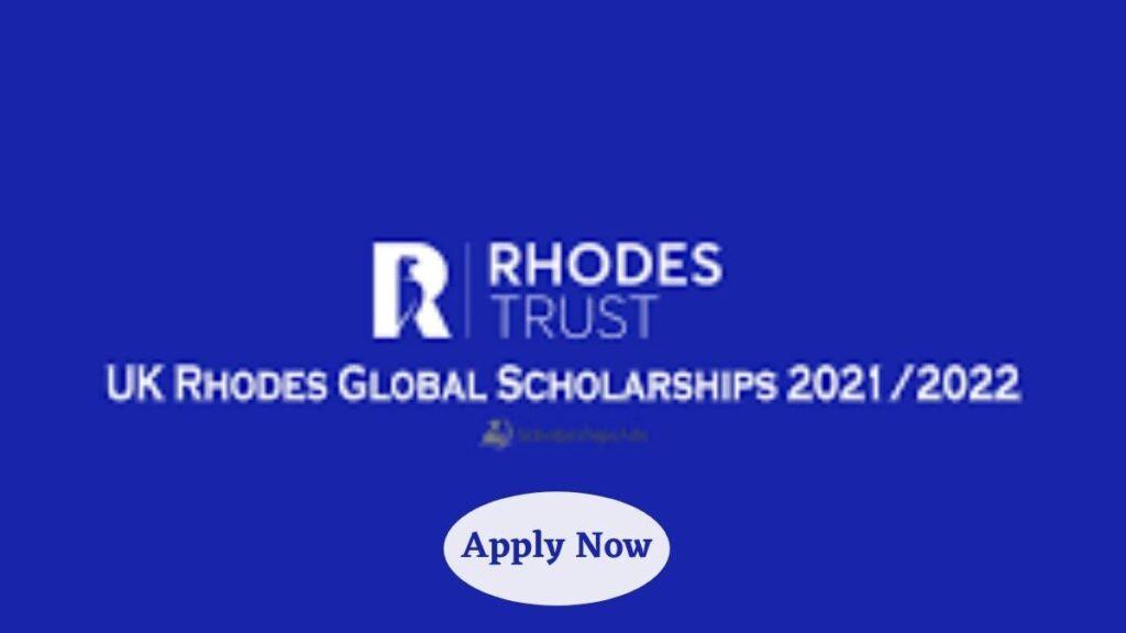Rhodes Global Scholarship For Postgraduate Study