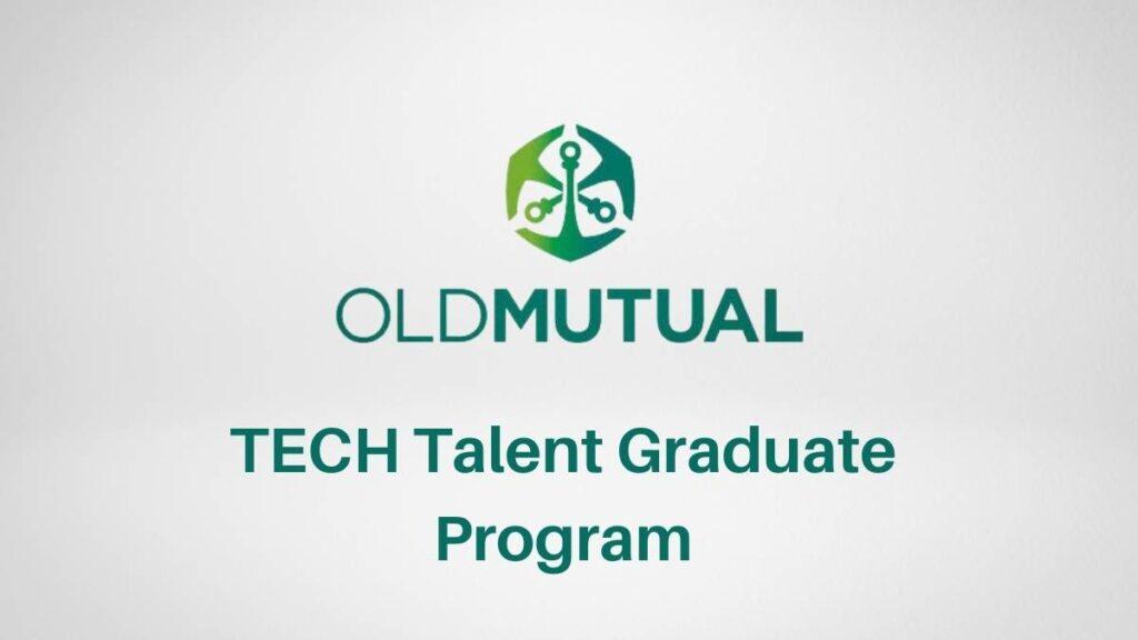 Old Mutual Tech Talent Graduate Program 2021