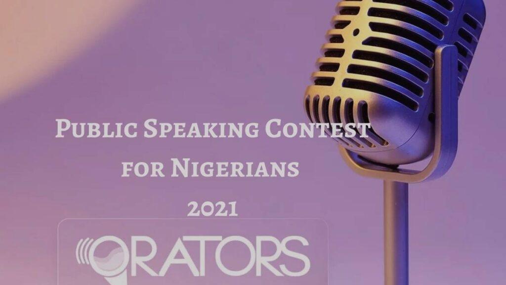 Orators Public Speaking Contest 2021