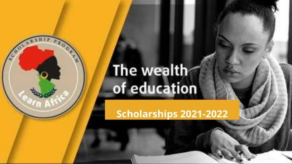 Learn Africa Scholarship 2021
