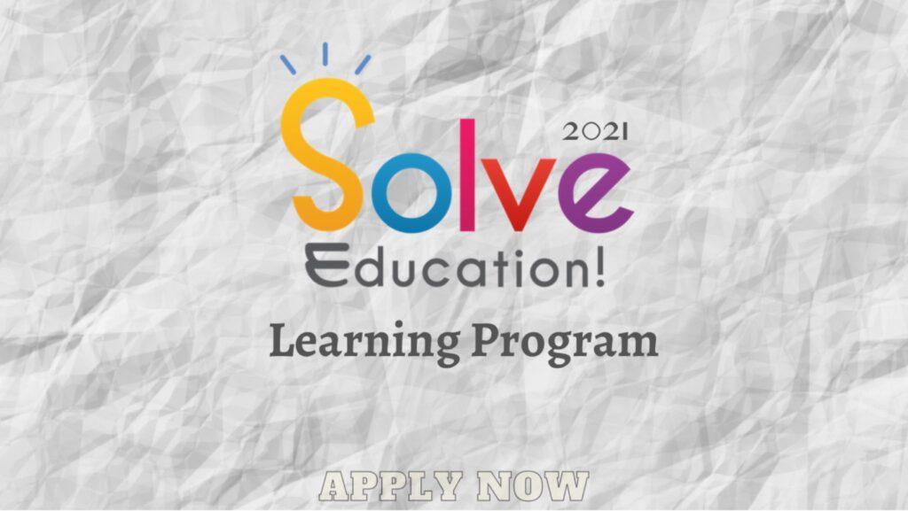 Solve Education! Learning Program