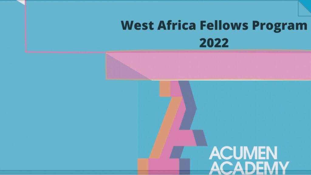 Acumen West Africa Fellows Program
