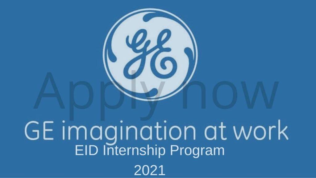 EID Internship Program 2021