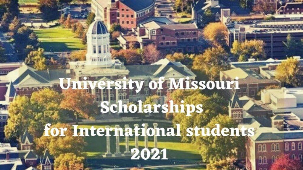University Of Missouri Scholarship