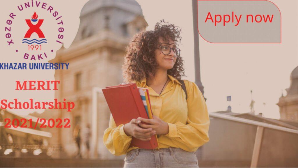 Khazar University Merit Scholarship 2021