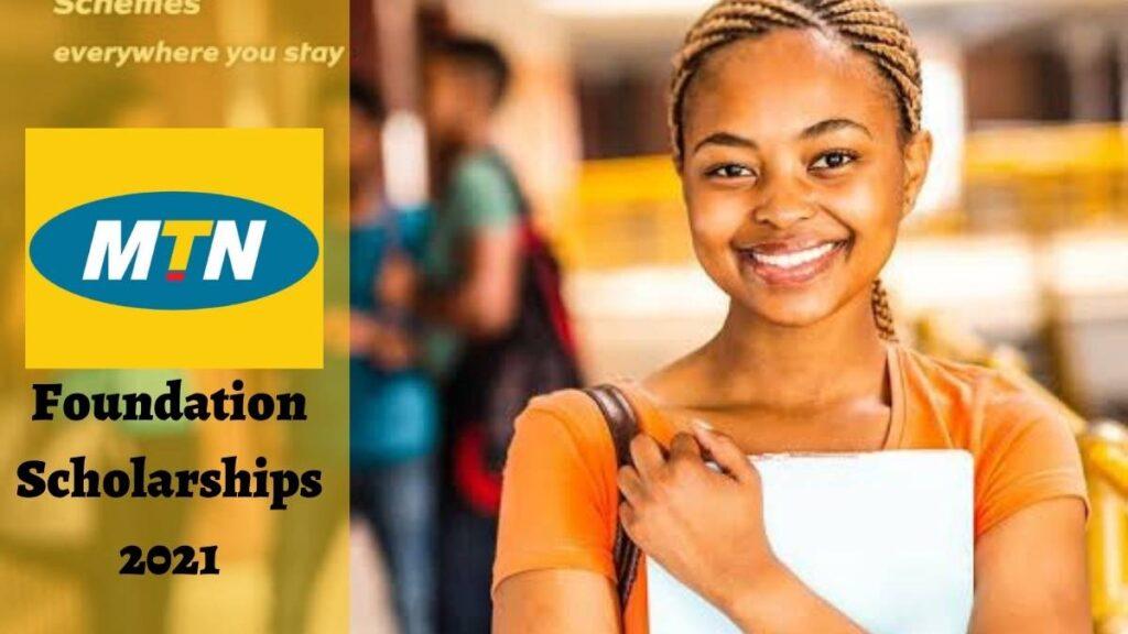 MTN Foundation Scholarships 2021/2022
