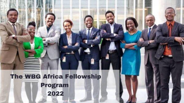 WBG Africa Fellowship Program 2022