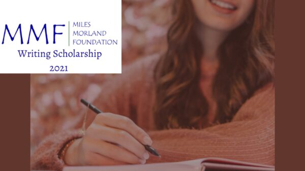 MMF Writing Scholarship for Africans 2021