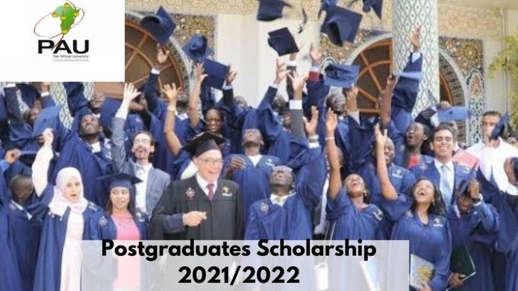 PAU Postgraduate Scholarship Awards 2021/2022