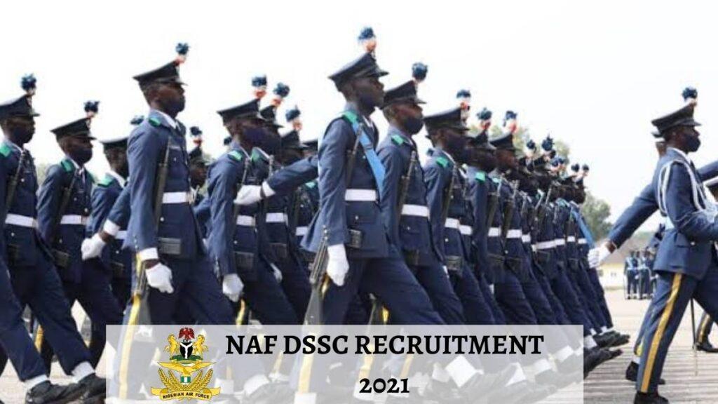 NAF DSSC Recruitment 2021
