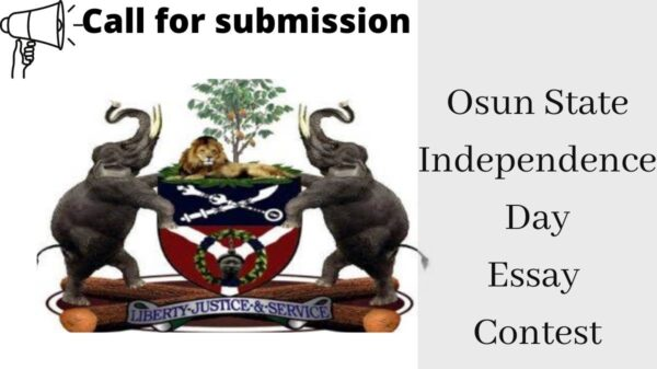 Osun State Independence Day Essay Contest 2021