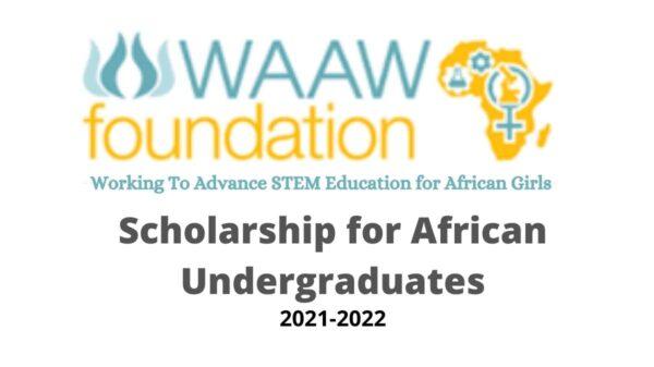 WAAW Foundation Scholarship 2021-2022