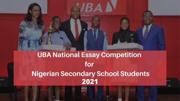UBA National Essay Competition 2021