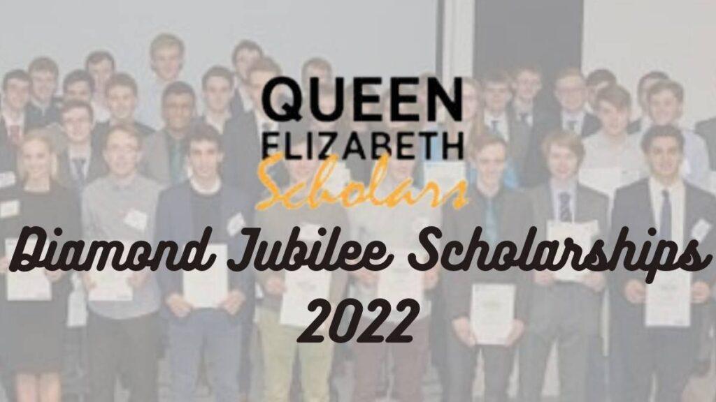 Canadian Queen Elizabeth II Diamond Jubilee Scholarships 2022