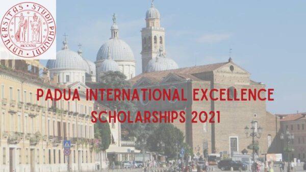 Padua International Excellence Scholarship 2021