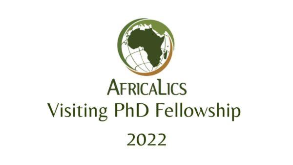 AfricaLics Visiting PhD Fellowship 2022
