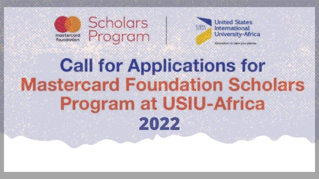 USIU-Africa Mastercard Foundation Scholarship 2022