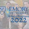 Emory University Scholar Programs 2021/22