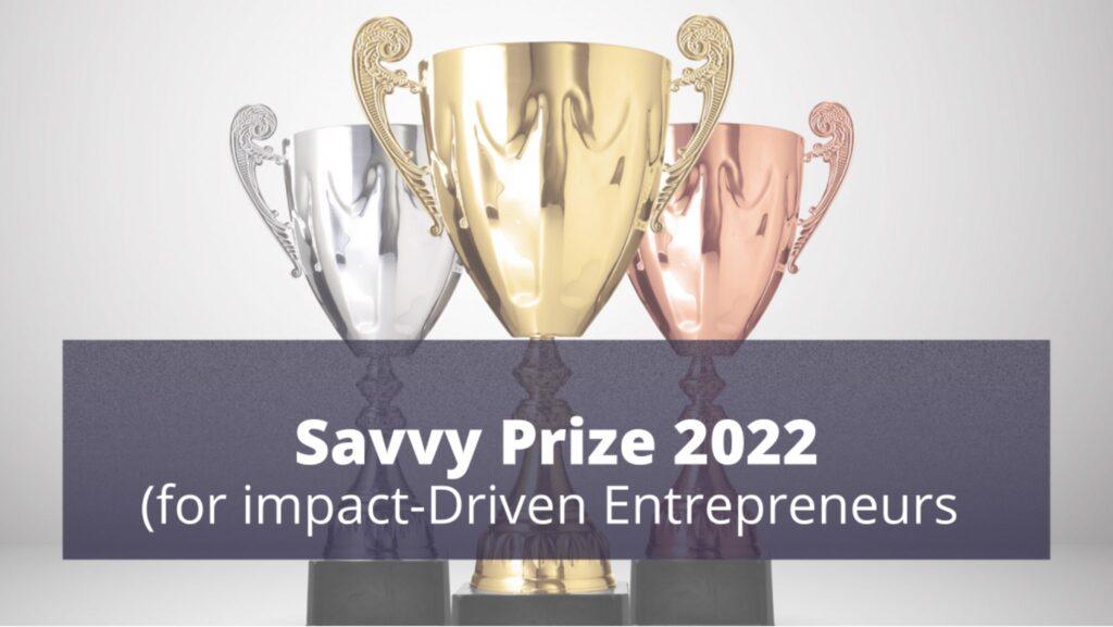 Savvy Prize 2022