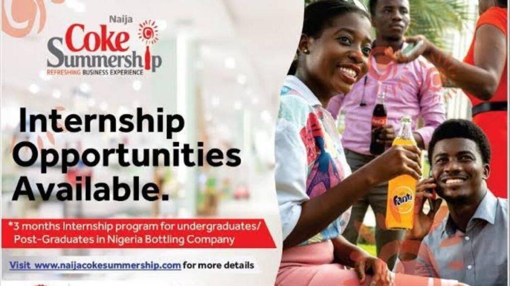 Naija Coke Summership Program 2021