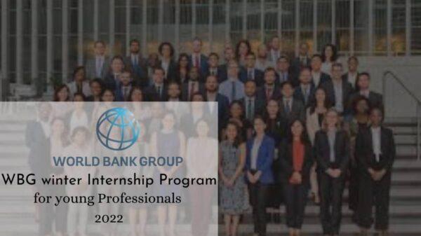 WBG Winter Internship Program 2022