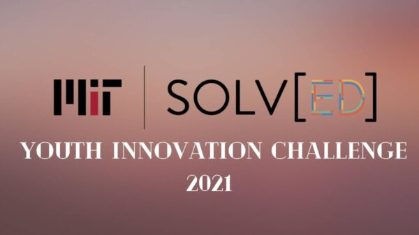 The MIT Solv[ED] Youth Innovation Challenge 2021